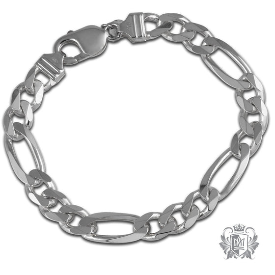 Medium Figaro Bracelet (180 Gauge) - Metalsmiths Sterling™ Canada