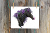 Blue Moon Moose - Fine Art Print