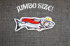 """King Salmon"" JUMBO 6"" Vinyl Sticker Wholesale"