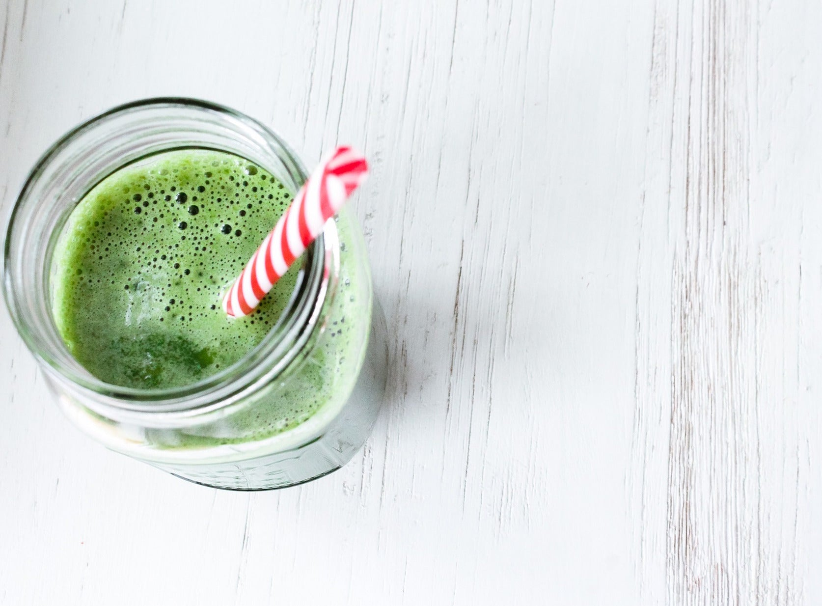 Struggling to eat enough greens?... try this delicious smoothie