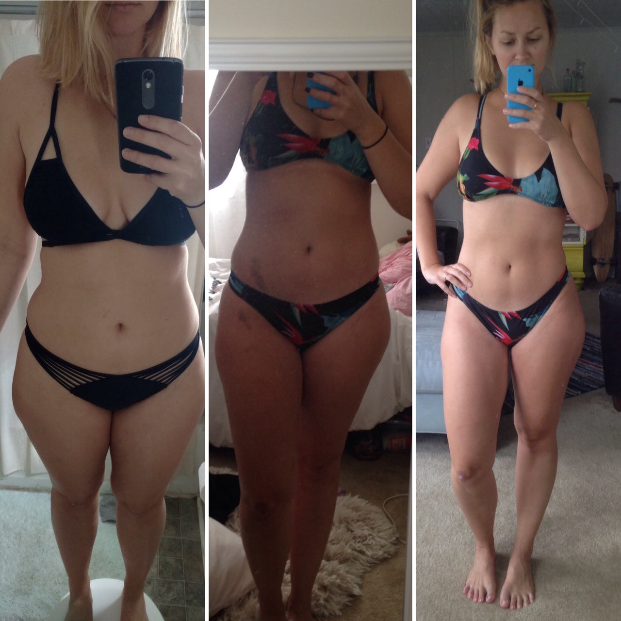 An amazing FIVE week transformation!