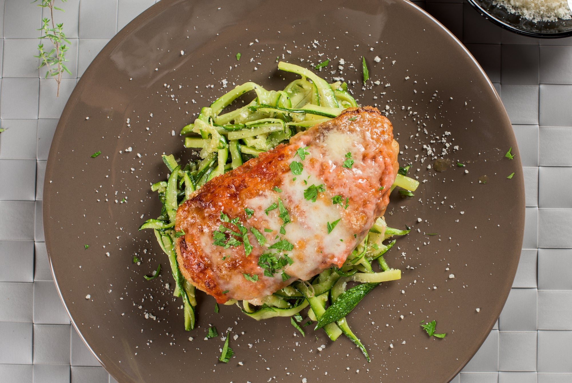 Celebrate Australia Day with our clean Chicken Parmy!