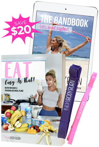 EAT (hard copy) & WORKOUT BUNDLE
