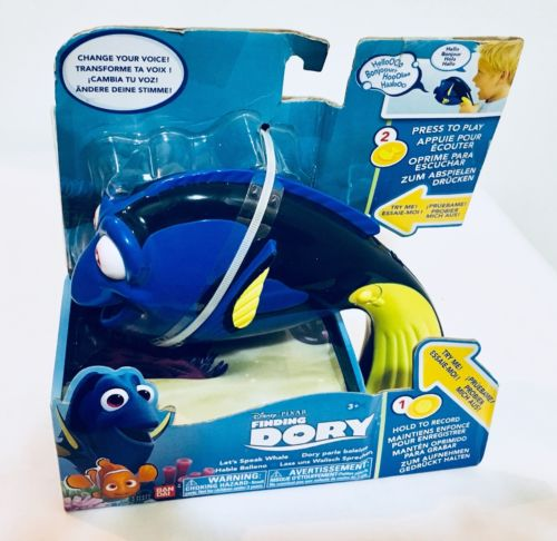 Finding Dory Let's Speak Whale Dory Toy by Finding Dory, Antique Alchemy