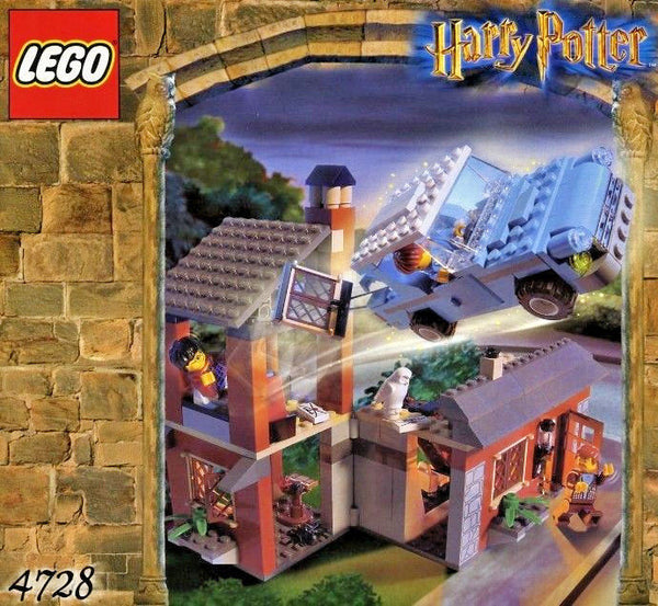 Lego - Harry Potter - Chamber of Secrets - Escape from Privet Drive - (4728)