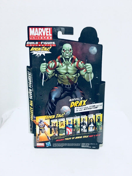 Marvel Legends Drax Arnim Zola Build Hasbro
