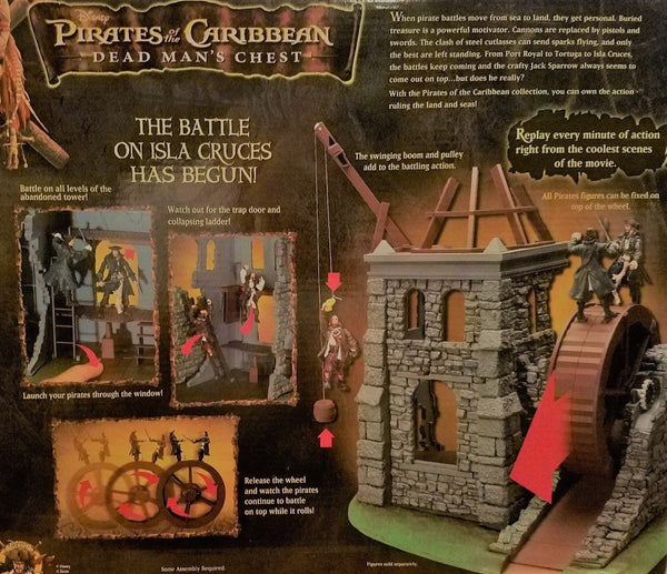Disney's Pirates of the Caribbean: Dead Man's Chest - Isla Cruces Playset