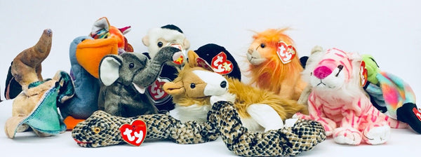BEANIE BABY LOT Of 13 WITH TAGS