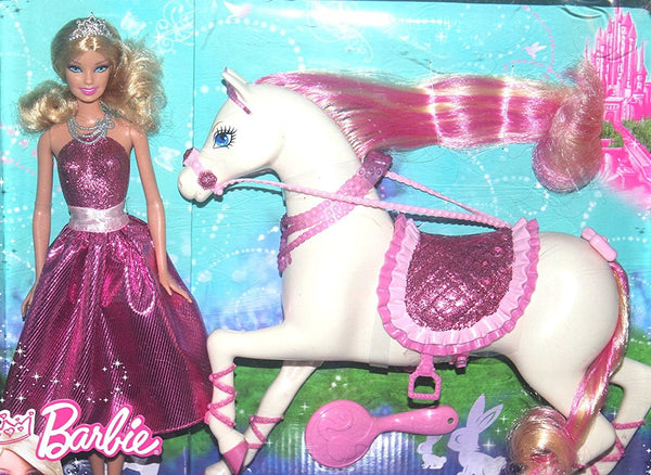 Barbie Princess Doll and Fashion Horse Exclusive by Mattel, NIB, Antique Alchemy
