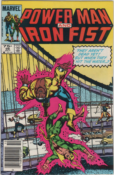 Marvel Comics, 1983 #98 Power Man and Iron Fist, Bronze Age Comic Books, Antique Alchemy