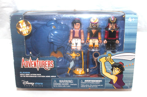 Disney Adventures Mega Minis Action Set, Aladdin, Lego, Antique Alchemy