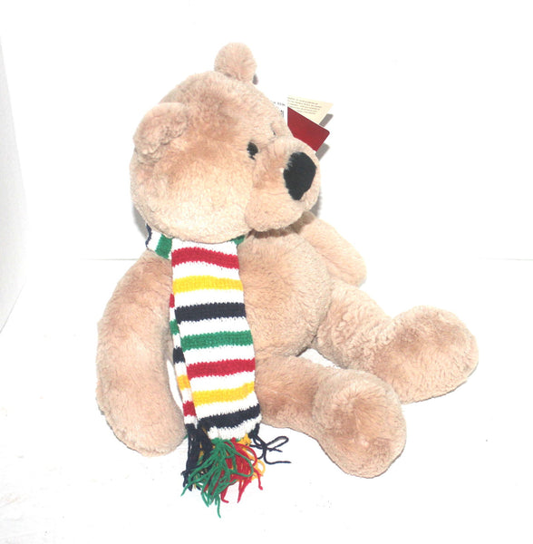 16'' Charity Bay Bear, The Bay, Hudson Bay, Stuffed Animal, Antique Alchemy