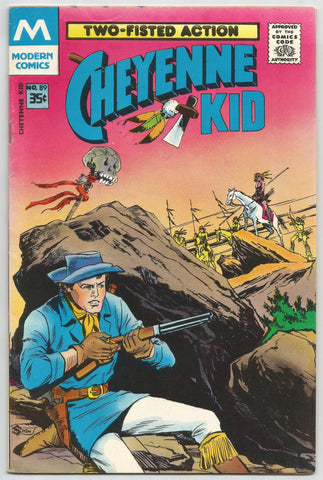 "Cheyenne Kid comic book ""The Warmaker"" - No. 89 - 1978,  Antique Alchemy"