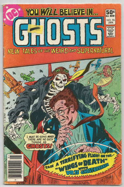 Ghosts #96 Comic – 1981, 1980 DC Comics,  Antique Alchemy
