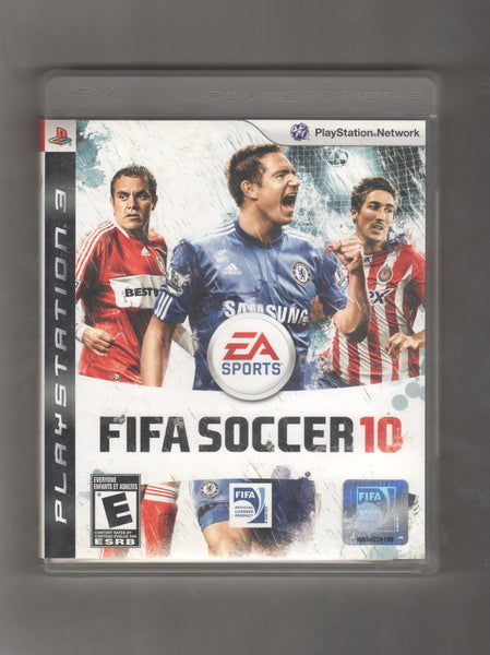 Playstation 3 EA Sports Fifa Soccer 10, Vintage Games, Antique Alchemy
