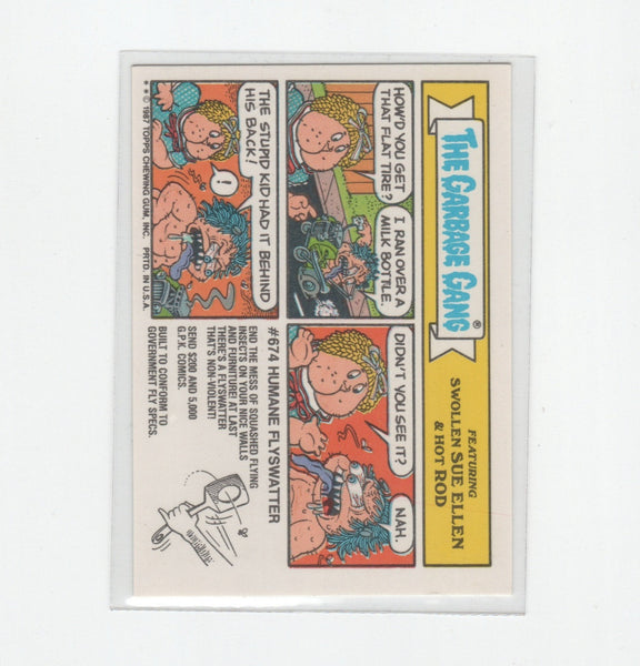Vintage OS GPK Dick Hick, Garbage Pail Kids, 1980s,  Antique Alchemy