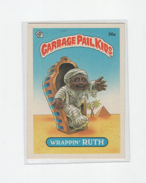 Vintage OS GPK Wrappin Ruth, Garbage Pail Kids, 1980s,  Antique Alchemy