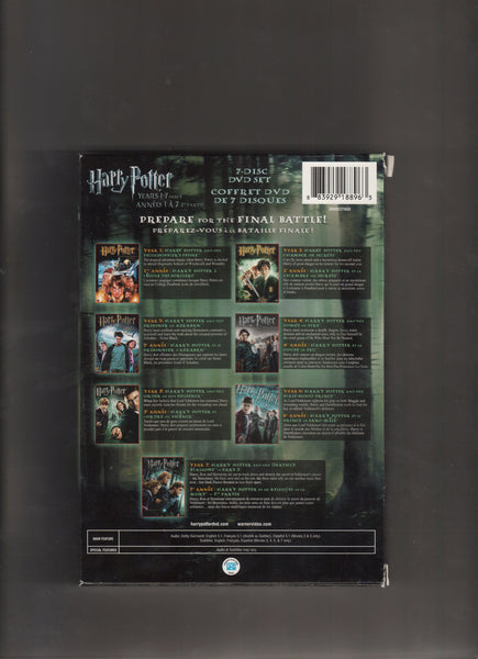 Harry Potter Years 1-7 Gift Set, Antique Alchemy