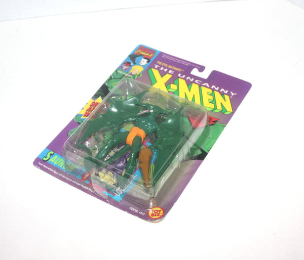 NIB X-Men: X-Force Sauron Action Figure, Marvel Comics, 1992 Toy Biz, Antique Alchemy