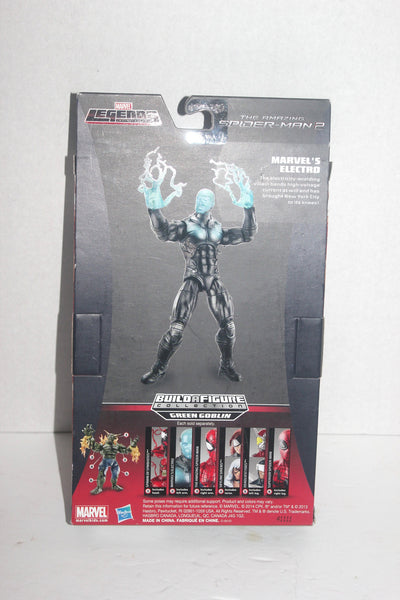 Marvel The Amazing Spider-Man 2 Marvel Legends Infinite Series Marvel's Electro Figure 6 Inches, Antique Alchemy