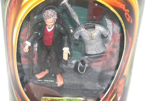 The Lord of the Rings Fellowship of the Rings Traveling Bilbo Figure By Toy Biz, Antique Alchemy