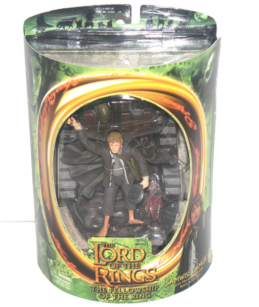 The Lord of the Rings Fellowship of the Rings Samwise Gamgee Figure By Toy Biz, Antique Alchemy