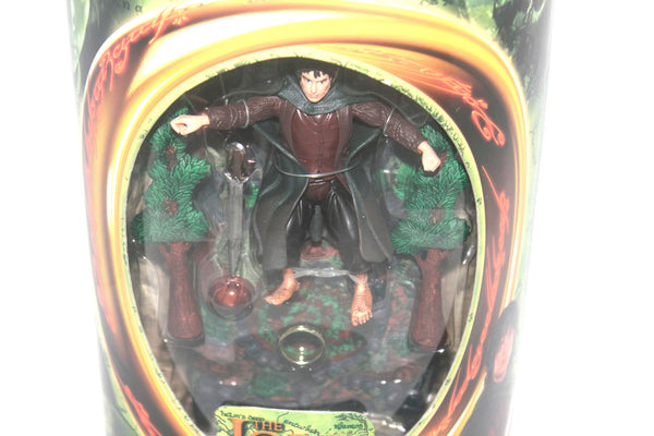 The Lord of the Rings Fellowship of the Rings Frodo Figure By Toy Biz, Antique Alchemy