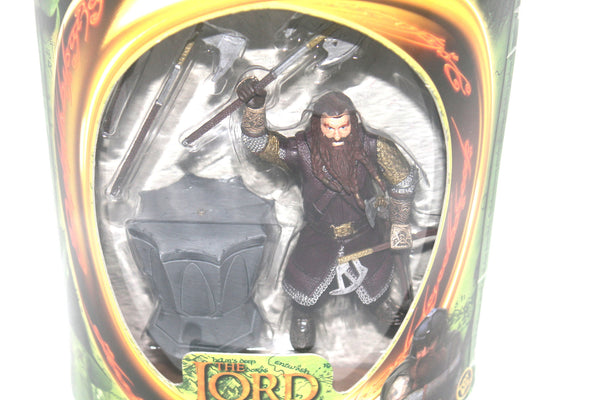 The Lord of the Rings Fellowship of the Rings Gimli Figure By Toy Biz, Antique Alchemy