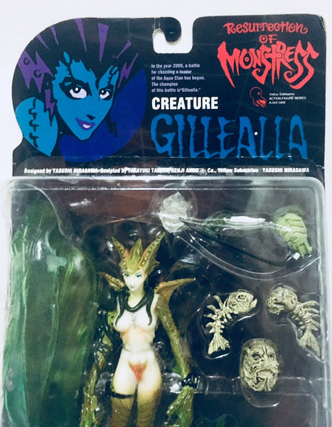 Resurrection of Monstress Creature Gillealla figure from Yellow Submarine NOC, Antique Alchemy