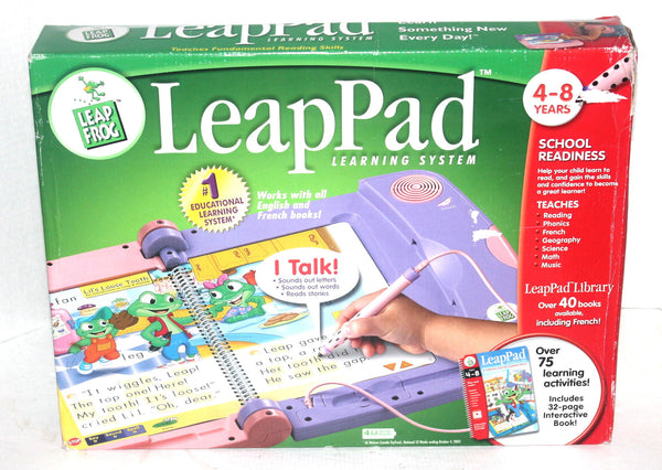 Leap Frog Leap Pad Education System by Learning System, Antique Alchemy