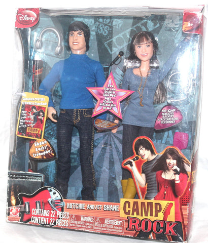Camp Rock Mitchie and Shane Doll Figures, Antique Alchemy