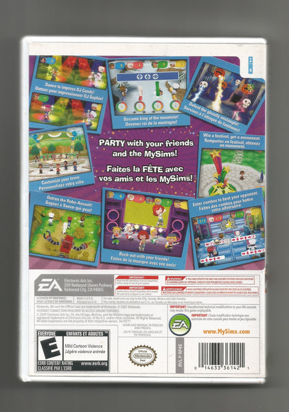 WII My Sims Party, EA, Used Games, Antique Alchemy