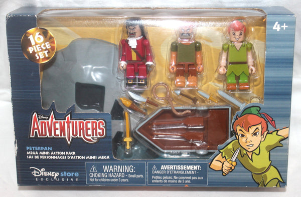 Disney Adventures Mega Minis Action Set, Peter Pan, Lego, Antique Alchemy
