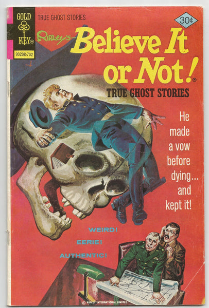 Ripley's Believe it or Not! True Ghost Stories No .68 1977,  Antique Alchemy