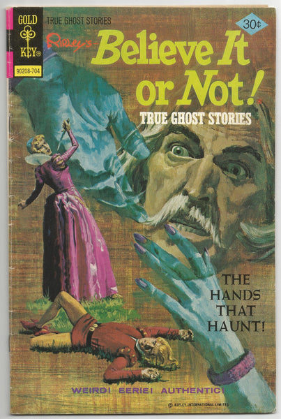 Ripley's Believe it or Not! True Ghost Stories No .69 1977,  Antique Alchemy