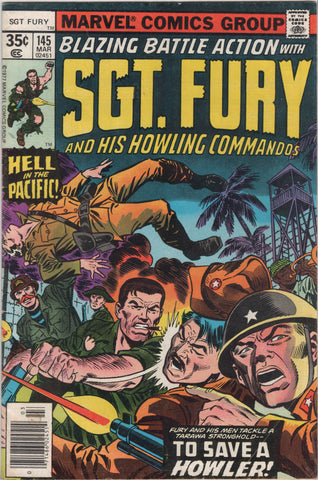 Marvel Comics, Blazing Battle Action With Sgt. Fury and His Howling Commandos #145,  Antique Alchemy