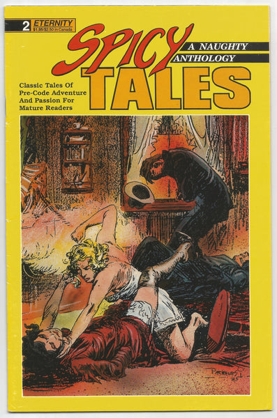 Spicy Tales #2 October 1988 Comic – 1988, Antique Alchemy
