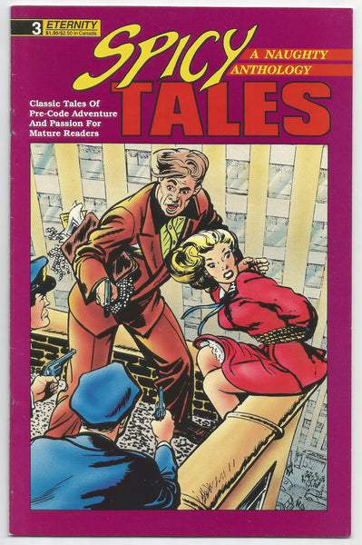 Spicy Tales #3 November 1988 Comic – 1988, Antique Alchemy