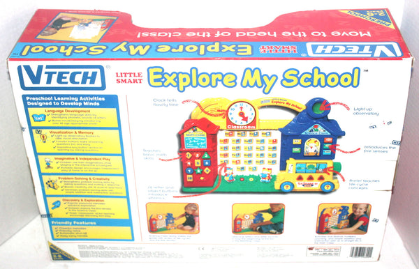 Vtech Little Smart, Explore My School Learning Toy, Antique Alchemy