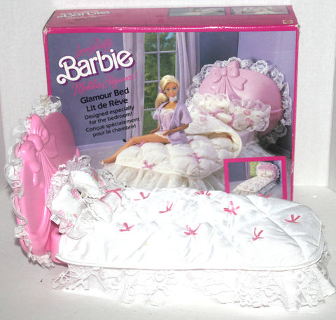 1987 Living Pretty Barbie Glamour Bed, Antique Alchemy
