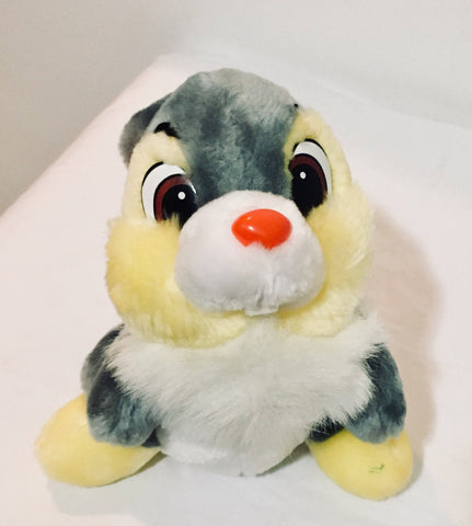 8'' 1990s Thumper Toy, NWT, Disney, Stuffed Animal, Antique Alchemy