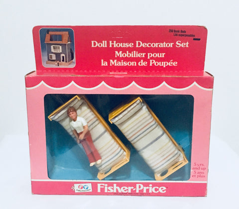 1978 Fisher Price Doll House Decorator Set, MIB Antique Alchemy