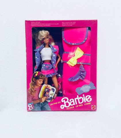 vintage barbie dolls in box