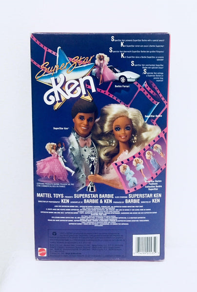 Barbie Super Star Ken Doll, 1988 Mattel, Barbie Doll, Vintage Ken Doll