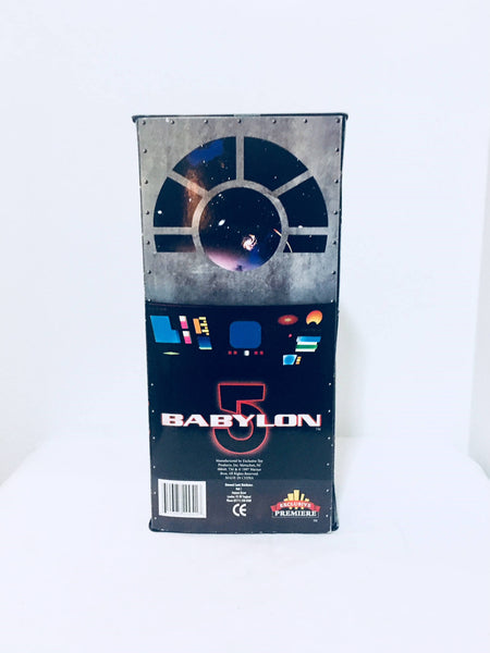 Vintage Babylon 5 Action Figure 1997, Limited Edition, Exclusive Toy, Antique Alchemy