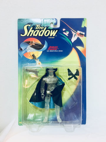 1994 NOC, The Shadow Ambush with Quick Draw Action Figure , Antique Alchemy