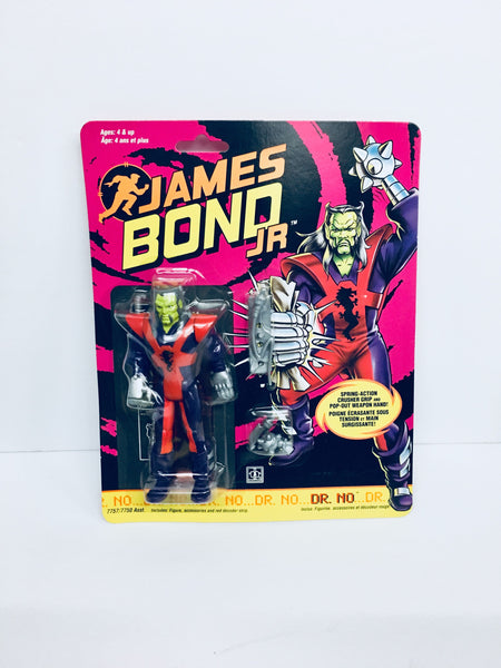 Vintage James Bond Jr  Dr. No Action Figure, Antique Alchemy