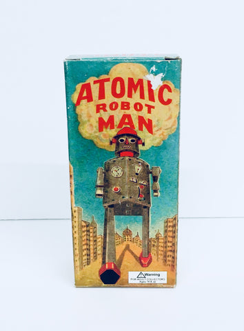 1997 Atomic Robot Man, Shylling Collector Series, Antique Alchemy