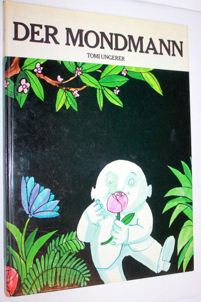 Vintage 1966 German Tomi Ungerer Der Mondmann Book, Vintage Childrens Books, Germany, Antique Alchemy