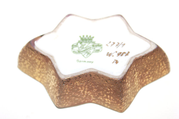 Jewelry Box, Trinket Box, JLMenau Grof Von Henneberg, Germany, Star,  Trinket Jewelry Box
